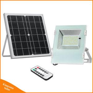 30W Светодиодный прожектор солнечной энергии на открытом воздухе с панели управления для сада безопасность