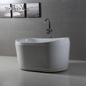 Piccole vasche da bagno indipendenti acriliche ovali profonde uniche ...