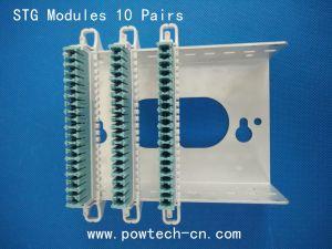 10 pares de módulos de conexión de la base de*