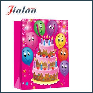 Laminado mate vacaciones Cumpleaños Diseño Logotipo personalizado el papel de la bolsa de Chocolate