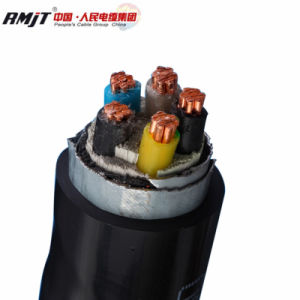 1 à 5 coeurs isolés de PVC Underground Gsw Armored Câble d'alimentation