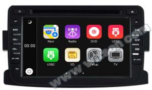 Lettore DVD dell'automobile di Witson con il GPS per lo spolveratore di Renault (W2-D6787)