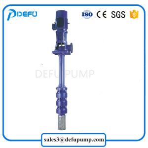El eje largo vertical eléctrico sumergidas centrífugas bomba de agua con gran caudal