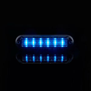 Senken 2018 Nuevo Diseño IP67 Azul Blanco Rojo de la cabeza de la luz ámbar de advertencia