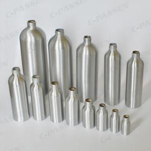 China fabricante de botellas de aluminio Envases para Cosmética (PPC - ACB-058)