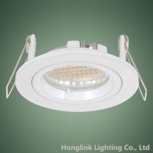 Vertiefte Downlight Halterung des Torsion-Felsen-Ring druckgegossene Aluminium-GU10 MR16 LED