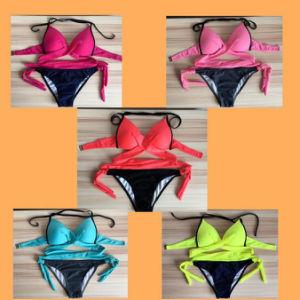 Het Badpak.De Sexy Bikini Van Het Badpak Van Het Strand Van De Bikini Van