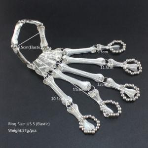 De Elastische Armband van het Skelet van de Schedel van de Hand van Halloween