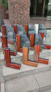 Profilo di alluminio di alluminio dell'espulsione del portello della stoffa per tendine della finestra di scivolamento del materiale da costruzione del rivestimento della polvere