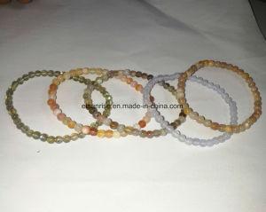 Cristaux de pierres naturelles de l'Améthyste Agate Bracelet perlé