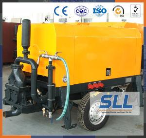 A pressão hidráulica da bomba de cimento de espuma para máquina de fazer de concreto
