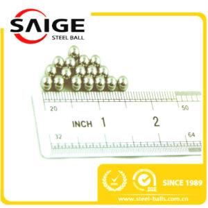 SGS / ISO Stalinless esfera de acero