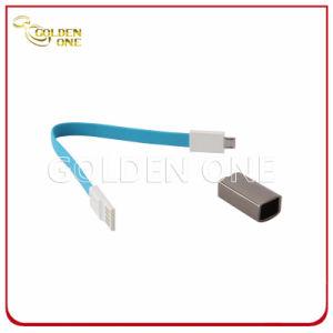 Anello portachiavi del metallo di disegno del regalo di promozione nuovo con la riga di dati del USB