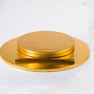 13mm Thickness Different Size Corrugated Cake Boards Cake Drum