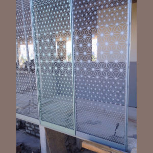 Panneau en aluminium perforé Reingoration pour la construction de décoration