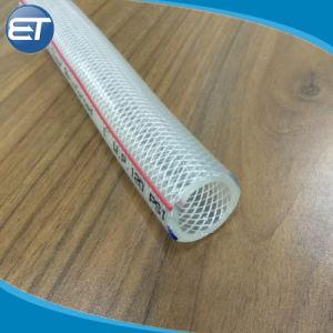 5/8 pulgadas de alta calidad de fibra de PVC flexible fuerza trenzado manguera / tuberías de agua
