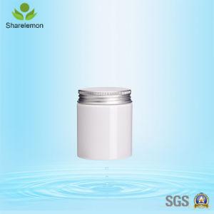 スリープマスクのためのプラスチックねじふたが付いている80mlプラスチッククリーム色の瓶/装飾的な瓶