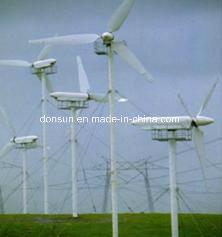 Cepillo de carbono para el generador impulsado por el viento