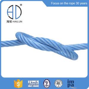 3/6本の繊維の運動場PPの組合せの混合物の鋼線ロープ+釣のためのFC/Iwrc