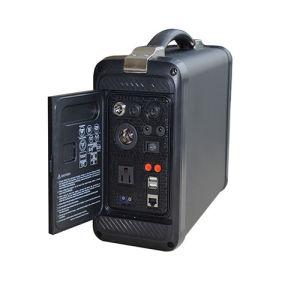 Het handbediende Draagbare Systeem van de ZonneMacht met 50ah Li-Ion Batterij