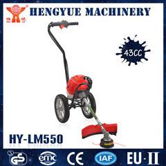 Transportador de césped Profesional China Cortadora de cepillo con ruedas