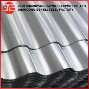 Strato ondulato galvanizzato del tetto del piatto di tetto del ferro