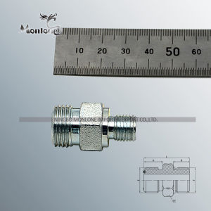 Orfs macho JUNTA TÓRICA/SAE con anillo tórico S-Series ISO 11926-2 adaptador (1FO)