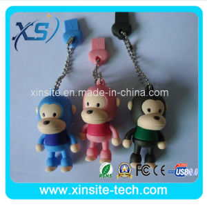 漫画の形PVC USBのフラッシュディスク(XST-USB-075)