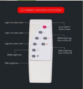 2018 Nuevo 60W Super brillante con protección IP65 Lámpara de Pared Solar solar moderna iluminación Proyectores portátiles