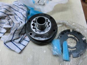 ペーバーの振動ポンプのためのRexroth A4vg56油圧油ポンプのパイロットポンプギヤポンプ