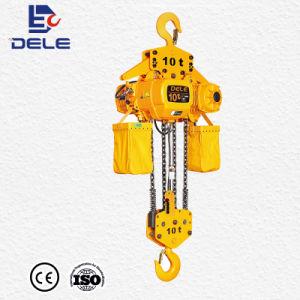 DC palan électrique à chaîne de commande de 3tonne