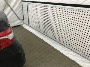 Cabine de Pintura Dobrável fez personalizada de fábrica na China