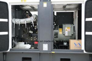 EUの証明書が付いているパーキンズエンジン15kVAを搭載する極度の無声タイプ発電機セット