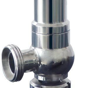 Valvola di sicurezza sanitaria della versione dell'acciaio inossidabile (CD-SV3001)