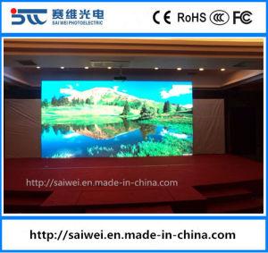 Taux de rafraîchissement élevé 4mm Indoor P4 LED Affichage du panneau
