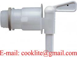 ポリエチレンのドラム蛇口2の BspのPEのプラスチックバレルのコック/栓