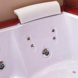 Persona 2 masajes de agua de la falda de acrílico bañera (TLP-666 mando neumático)