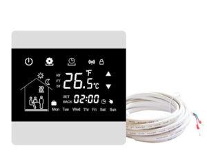 La pantalla táctil LCD Digital termostato de calefacción por suelo programable