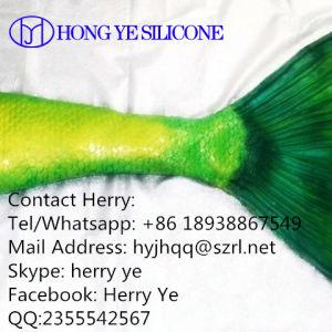 Het vloeibare Rubber van het Silicone voor het Maken van de Staart van de Vissen van de Meermin