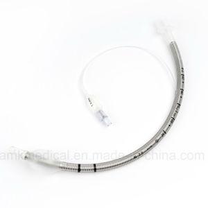 Tubo endotracheale di rinforzo a gettare con la bobina più larga della molla con Ce