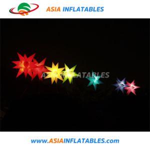 Helle aufblasbare LED-Beleuchtung-hängender Weihnachtsstern