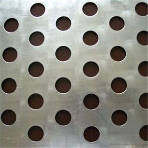 円形の穴の網の版304のステンレス鋼穴があいたシート