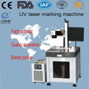 세륨 LED 스크린을%s 승인되는 UV 빛 Laser 표하기 기계