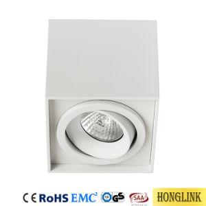 2*GU10 justierbare Downlight Decke Downlight passende Oberfläche eingehangene LED beleuchten unten