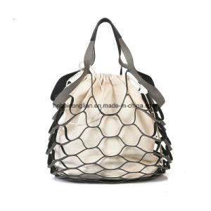 Neue hohle Frauen-Beutel-Großverkauf-Segeltuch-Handtaschen-Dame-Beutel
