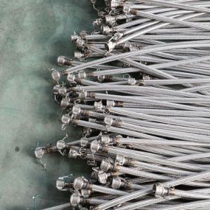 SS runzelten flexibles Metalschlauch mit Flansch-Enden