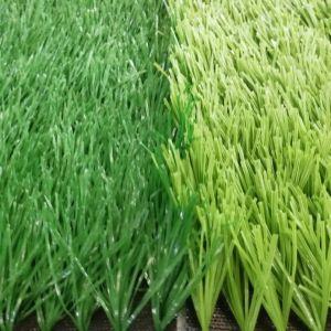 Tappeto erboso artificiale poco costoso di falsificazione dell'erba di gioco del calcio di prezzi 50mm