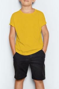 In het groot Unisex- Katoenen van Kinderen T-shirt met het Embleem van de Douane
