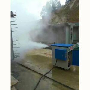 冬の橋げたの維持のための電気蒸気発電機
