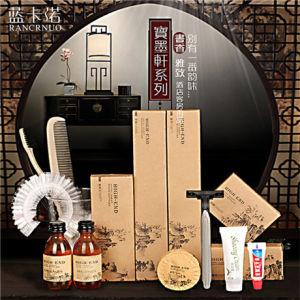 Rancrnuo Hotel de lujo en tinta china Embalaje Accesorios de Baño